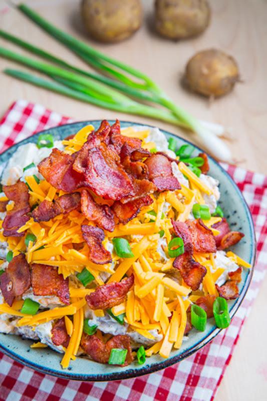 #Recipe : Loaded Baked Potato Salad