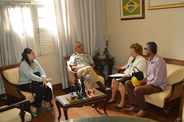Conselho Comunitário pede apoio ao comando da PM para reforçar segurança no bairro