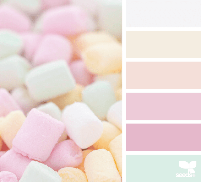paleta de colores rosa para blog de maternidad o manualidades