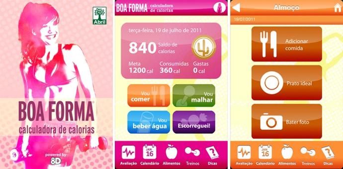 Blog Sonho Fitness: Calculadora de calorias de bolso