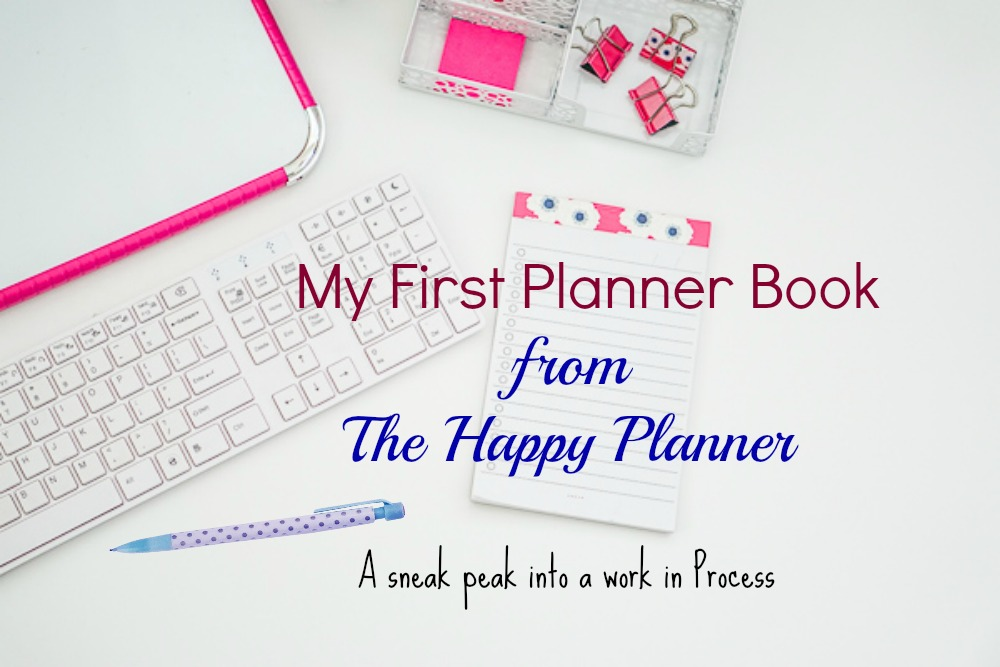 Planner Book~Happy Planner