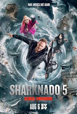 Sharknado 5: Global Swarming Poster