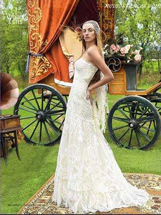 227f11b72 ... de vestidos de novia de cortes sencillos y románticos