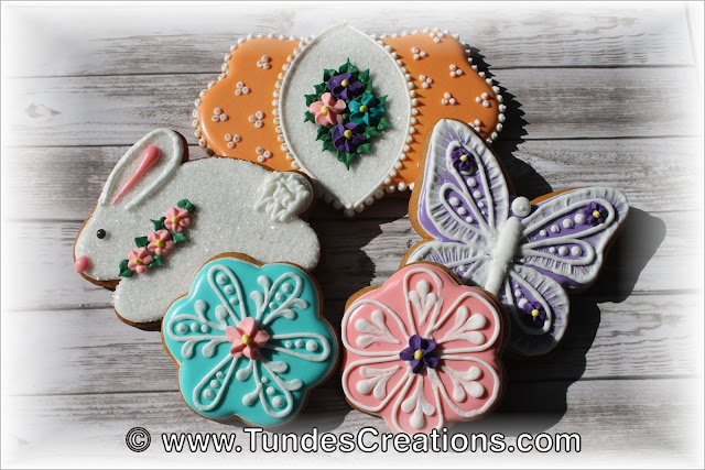 Playful Easter Cookies by Tunde Dugantsi