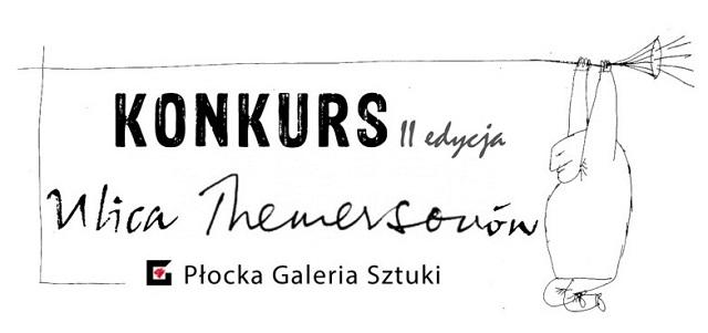 """Logo II edycji konkursu plastycznego """"Ulica Themersonów"""""""