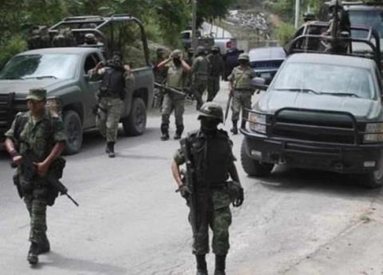 Marina abatió a un sicario en enfrentamiento en Zacazonapan, perteneciente a la Familia Michoacana