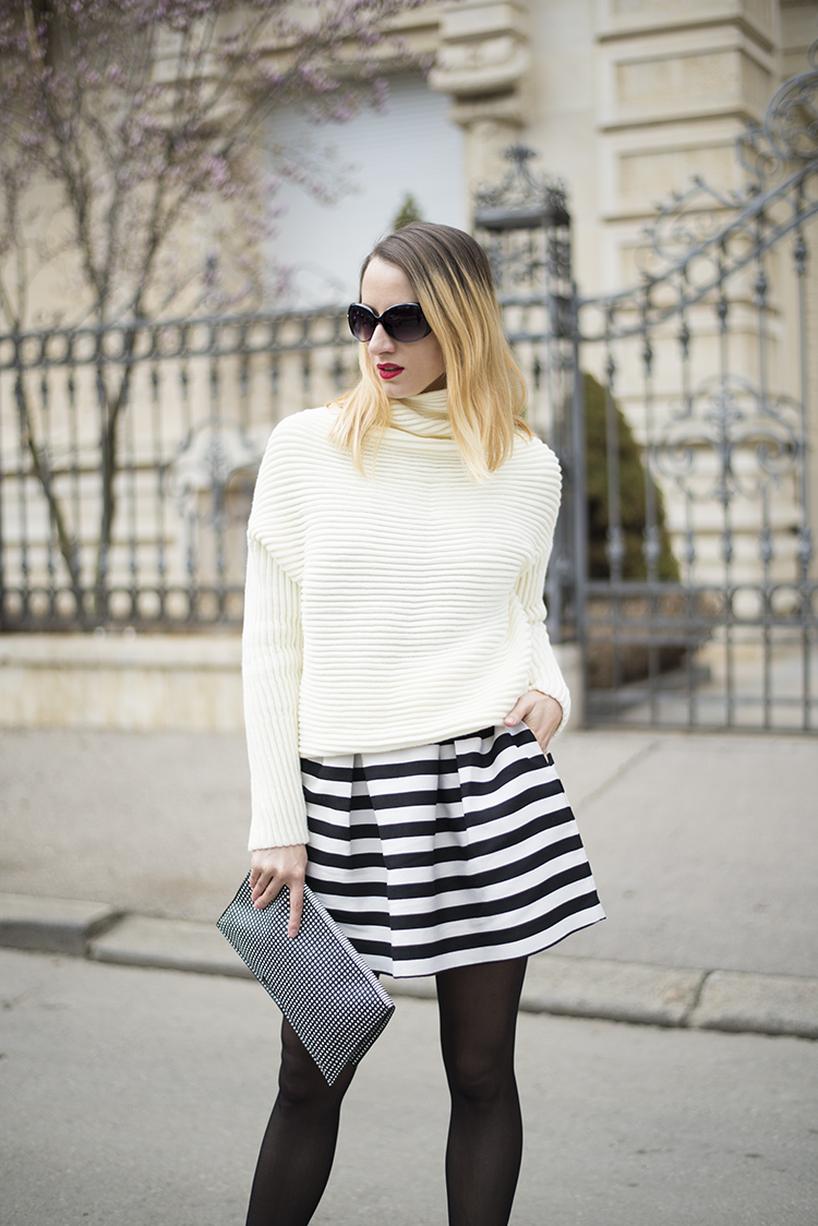 Long Sleeve Turtleneck Pullover Sweater