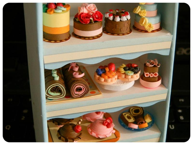 Paris Miniatures: Miniature French Cakes & Pastries  |Miniature Bakeries