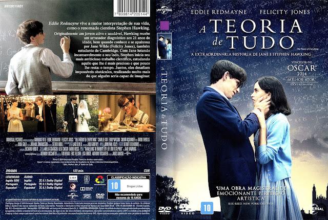 Capa DVD A Teoria de Tudo