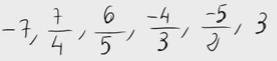 51.    Ordenar fracciones