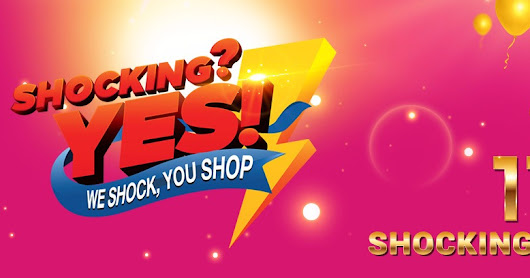 11street Shocking Sales 11.11.2017 ! RM1 and RM11 deals with FREE SHIPPING!