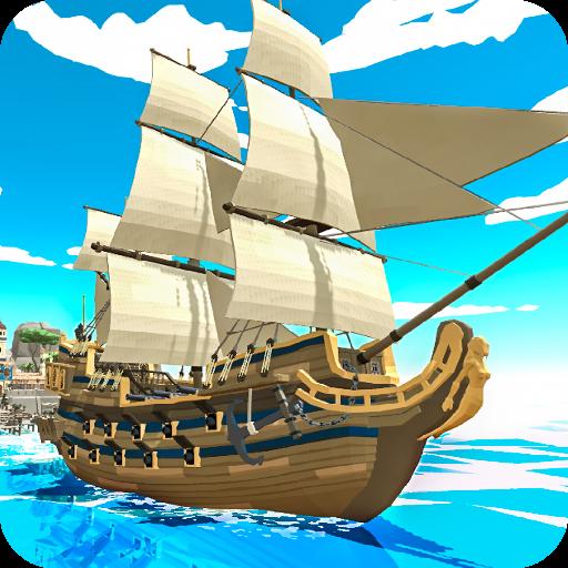 تحميل لعبة Pirate world Ocean break v1.25 مهكرة وكاملة للاندرويد أموال لا نهاية