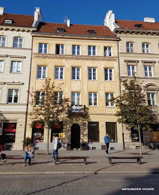 Warszawa Warsaw kamienica architektura Trakt Królewski