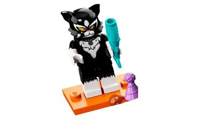 Lego Collectible Minifigures Series 18: Cat Suit Character