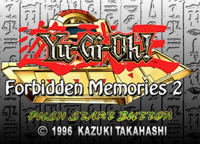 yugioh forbidden memories psx