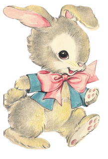 Nanalulu's Musings: Some Vintage EASTER Graphics Images To ... Easter Clip Art Free Retro