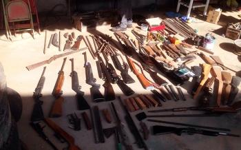 Fábrica clandestina de armas é fechada em João Lisboa