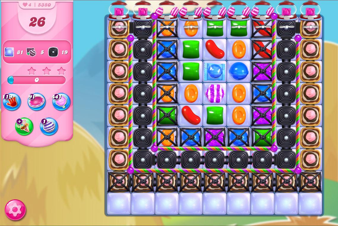 Candy Crush Saga level 5380