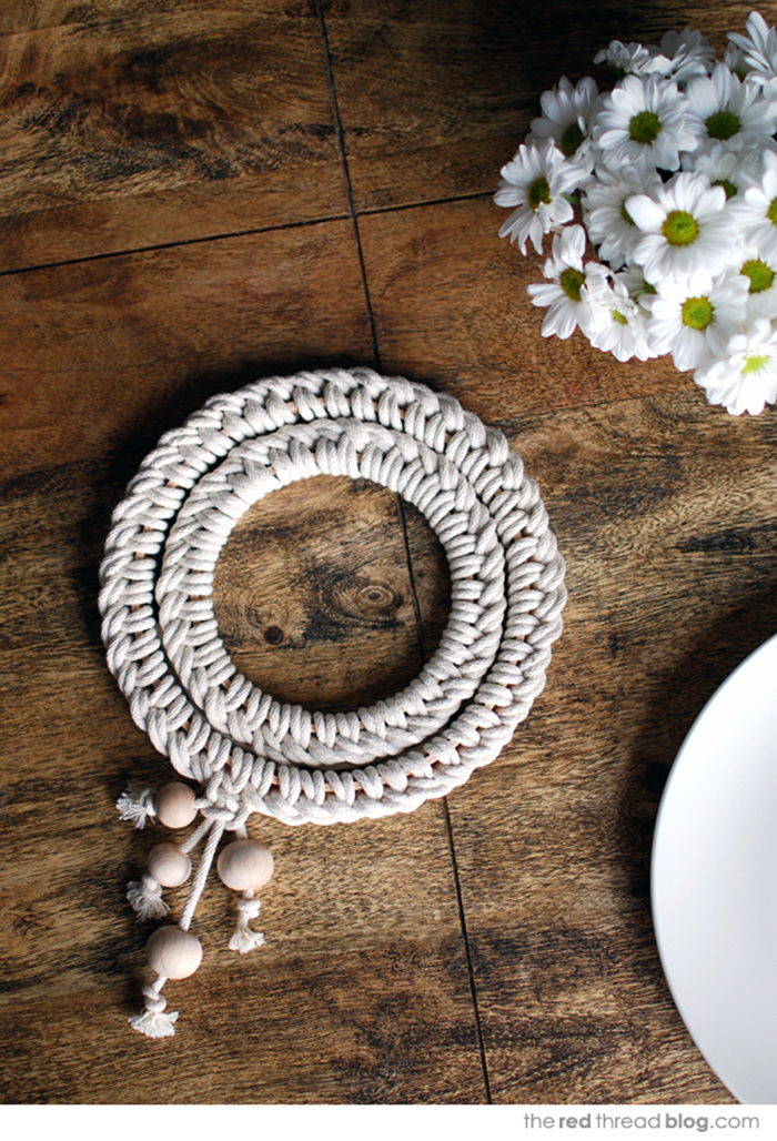 7 DIY to try # trivets - Ohoh deco