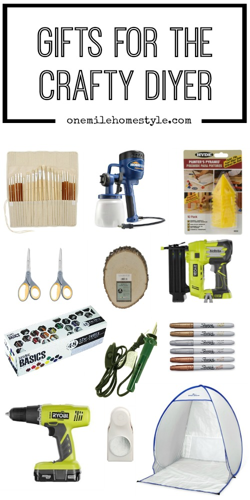 Gift guide for the Crafty DIYer to keep them happy and busy working on new projects!