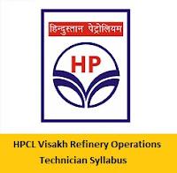 HPCL Visakh Refinery Syllabus