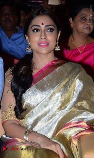 Actress Shriya Saran New Images in Silk Saree at Gautamiputra Satakarni Audio Launch  0001.jpg