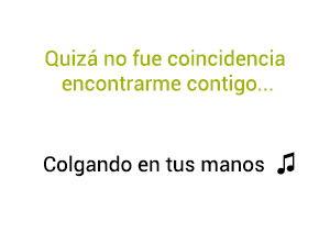 Carlos Baute Marta Sánchez Colgando En Tus Manos significado de la canción.