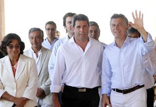 se encontraron Uñac y Macri en la asunción de Piñera