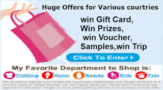 win gift card,win priZes, win voucher,win sample, win trip