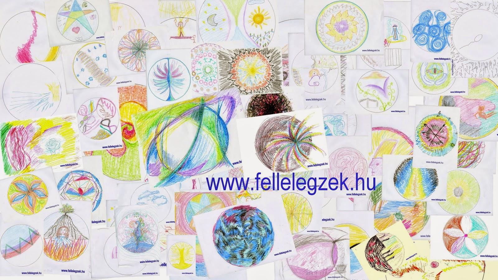transzlégzés mandala rajzok