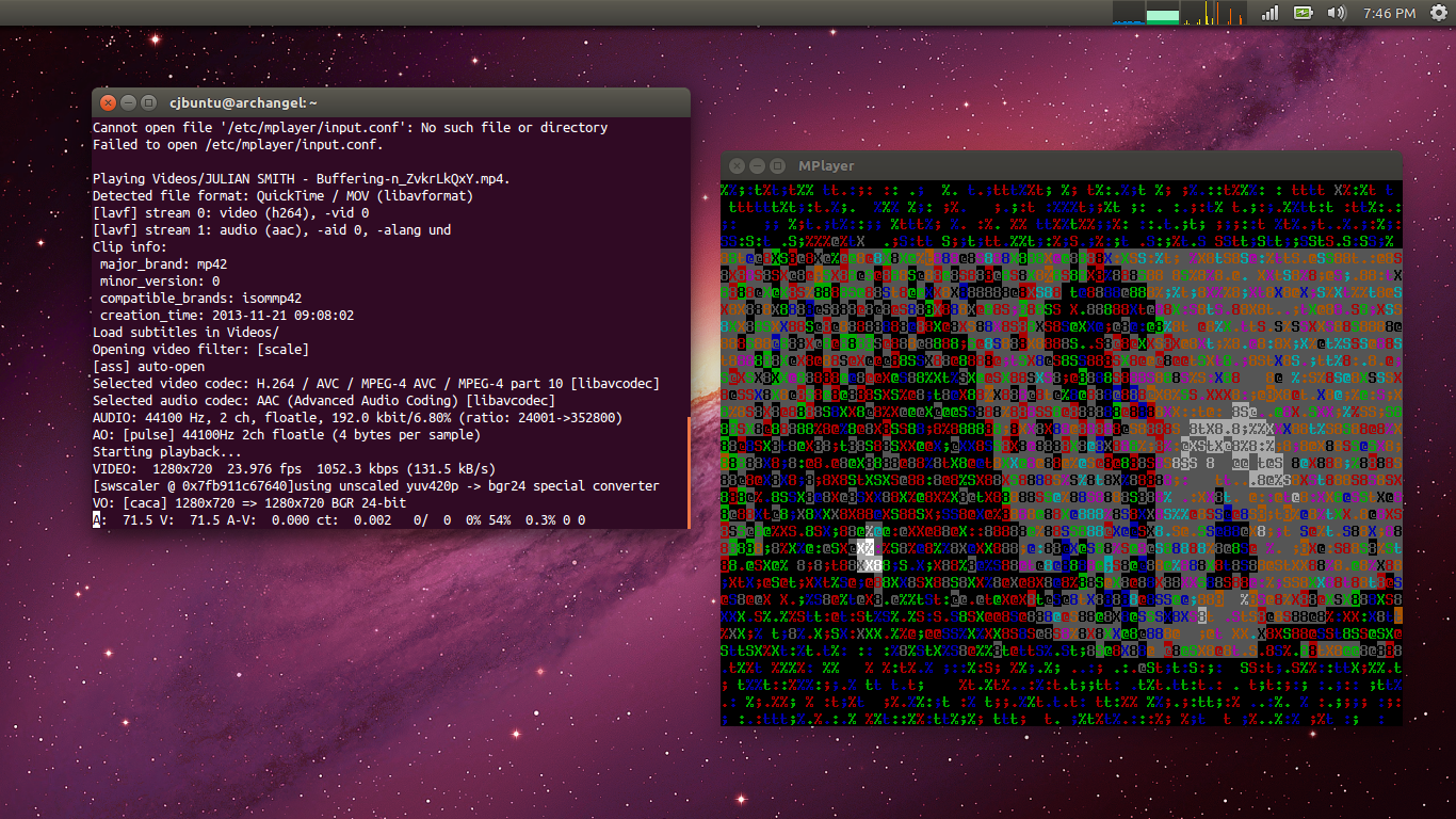 Linux Tips & Tricks: How to watch a video in ASCII art