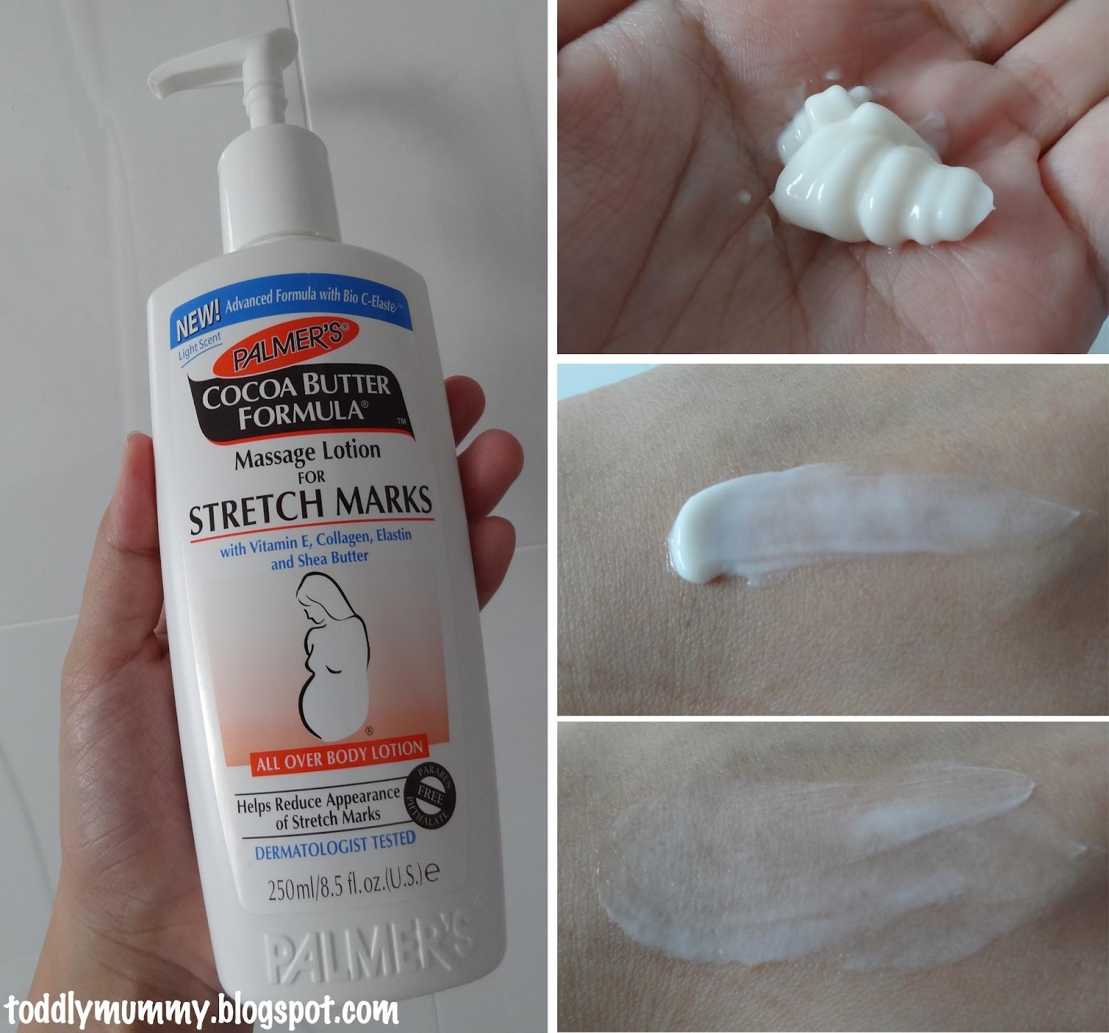 Singapore Family Blog Toddly Mummy Review Palmer S Cocoa Butter Formula Massage Lotion For Stretch Marks