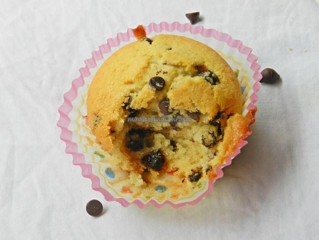 Eggless Chocolate Chips Cupcakes Recipe- Magic of Indian Rasoi - Priya R