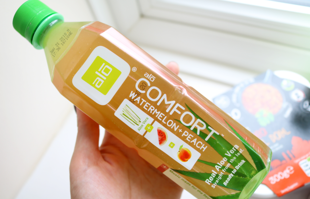 ALO Comfort Watermelon & Peach Drink