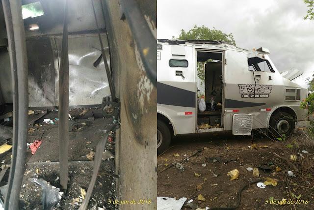 Polícia Militar divulga informações oficiais sobre ataque a carro forte na MA-034 em São Bernardo-MA