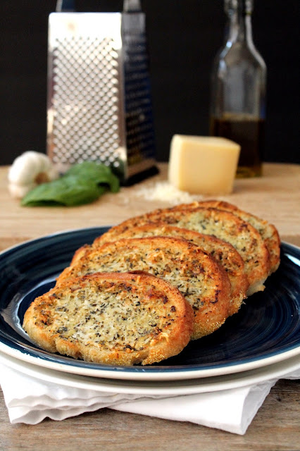 This is the garlic bread you've been dreaming of all your life! The perfect balance of garlic buttery goodness makes this the ultimate garlic bread.