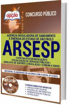 Apostila Arsesp 2018