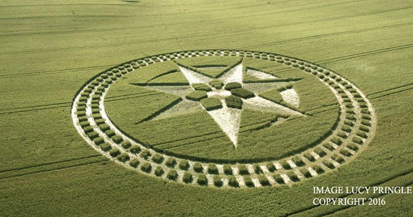 Un nuevo círculo de las cosechas apunta a las próximas fotos de Júpiter