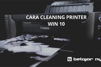 Bagaimana Cara CLEANING Printer Yang Benar di Windows 10 ? Semua Jenis Printer