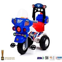motor mainan anak shp spm626 polisi