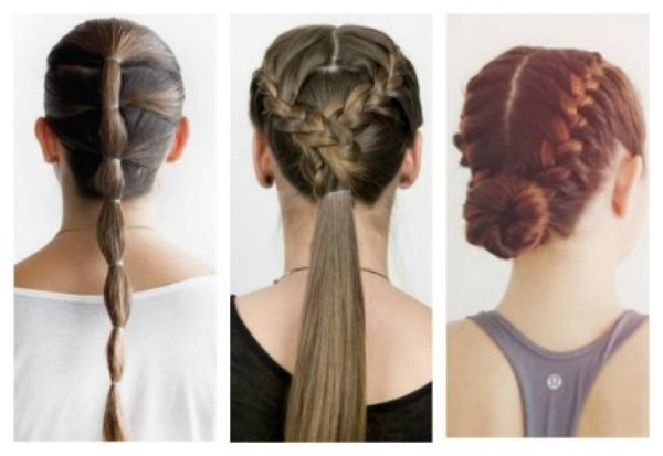 Sweat-proof hairstyles