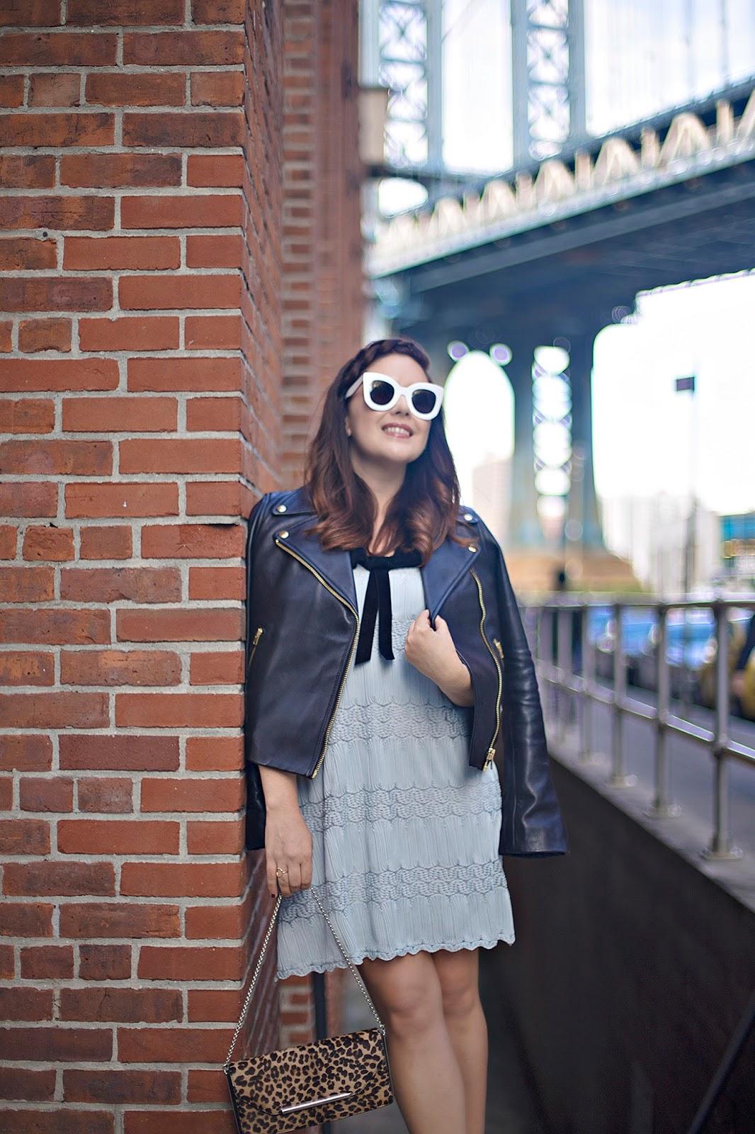 J.Crew Leather Moto Jacket, Fall Fashion
