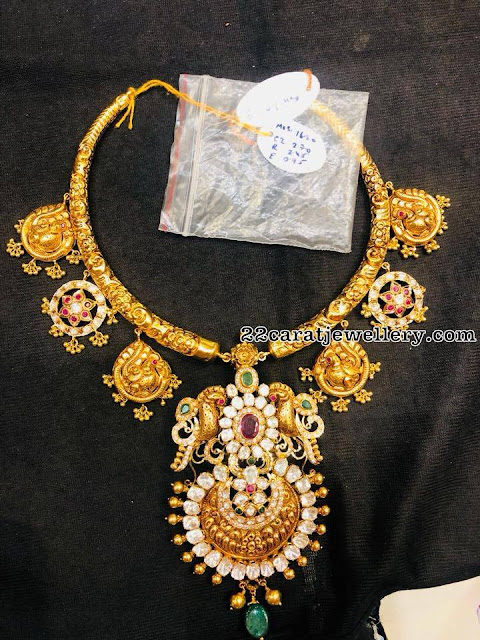 95 Grams Nakshi Hasil with Heavy Pendant