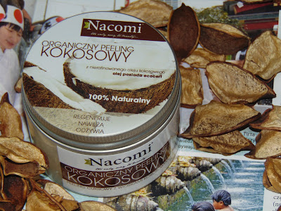 Nacomi, Naturalny, organiczny peeling kokosowy