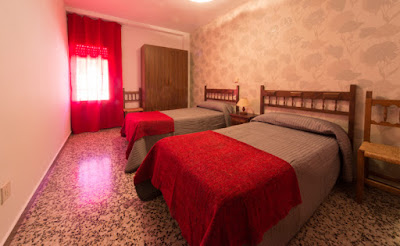 habitacion doble hostal alcorisa