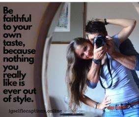 Good Mirror Selfie Captions