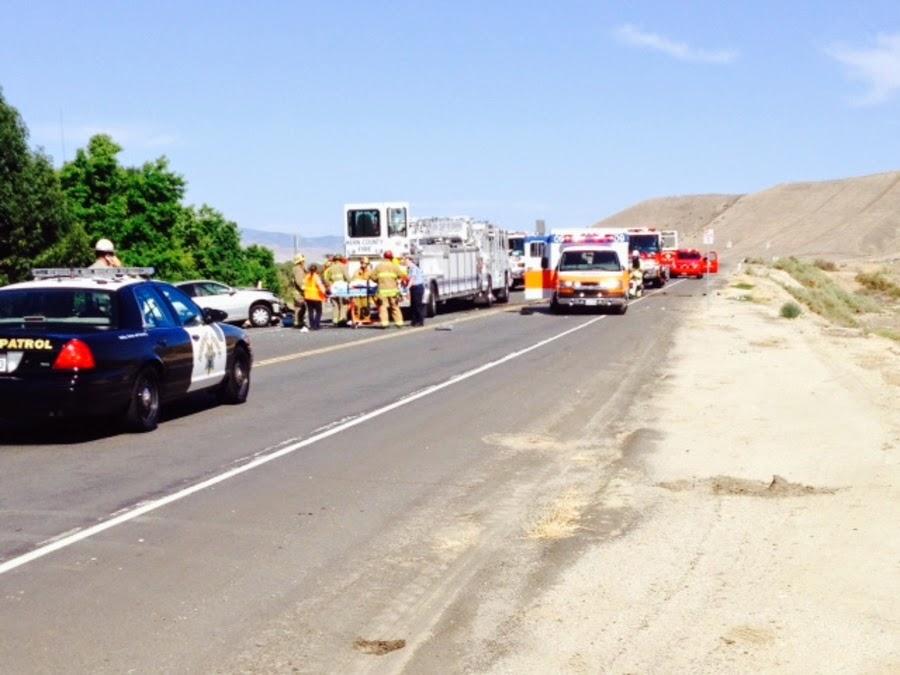 kern county bakersfield toyota headon collision crash alfred harrell highway