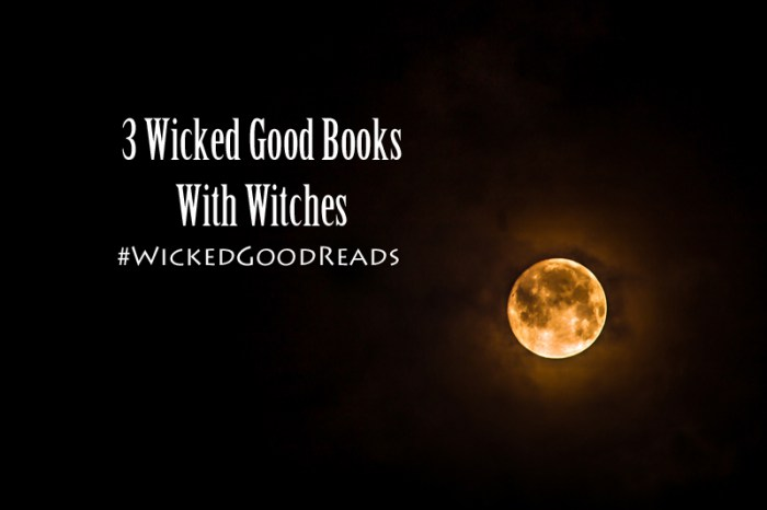 3 BeWITCHing Reads - Get It? #WickedGoodReads :: Outlandish Lit