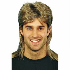 Jason Donovan Mullet Wig