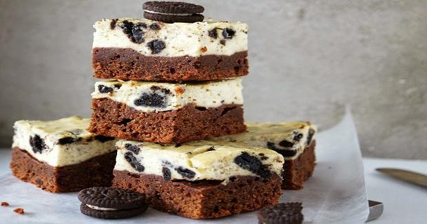 Oreo Cheesecake Brownie Bars Recipe